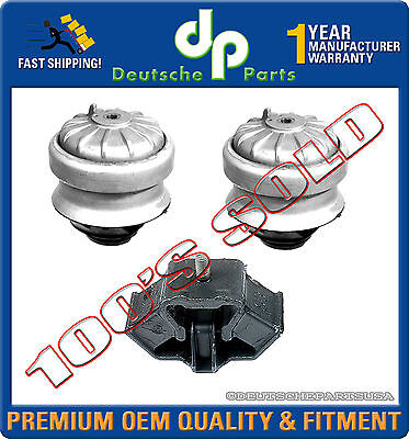 Front LH Or RH Engine Motor Mount For 84-93 Mercedes 190E 190D 300CE 300TE 300TD