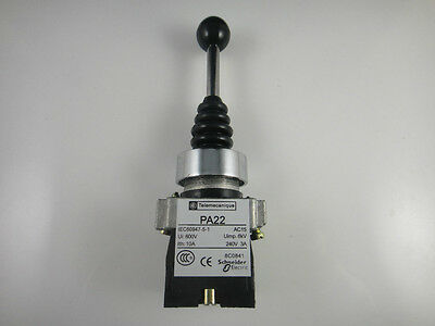 Spring Return Joystick Switch 2 Position 2NO XD2PA22CR