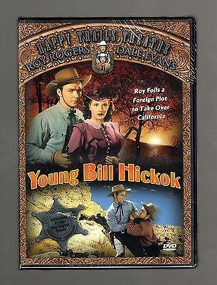 Young Bill Hickok (DVD) Happy Trails Theatre, Roy Rogers, George Hayes, NEW!