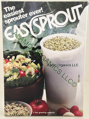 EASY SPROUT SPROUTER - THE EASY WAY TO SPROUT SEEDS