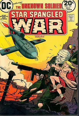 Star Spangled War LOT 176 -180 NM Unknown Soldier DC 1973