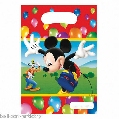 6 Disney Mickey Mouse Balloons Clubhouse Gift Party Loot Bags