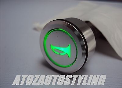 Savage Push Button HORN Switch Momentary GREEN <<NEW>>