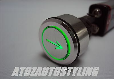 Savage Push Button ARROWS Switch Momentary GREEN   NEW