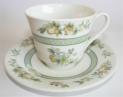 ROYAL DOULTON CHINA TONKIN GREEN INDIAN TREE CUP & SAUCER 13 Available