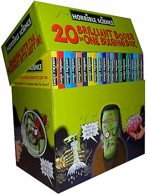 Horrible Science Collection 20 Bulging Books Box Set Children Books Gift Pack