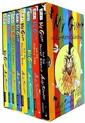 Mr Gum Collection 8 Book Gift Box Set Pack - Andy Stanton Award Winning titles