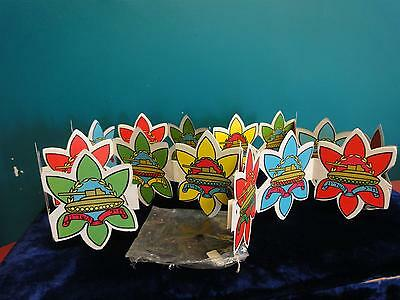 """Israel vtg Paper IDF Zahal Flags armored corps independence   130 CM LONG  52"""""""