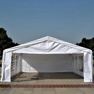Quictent 6x8M Heavy Duty Waterproof Party Tent Marquee White
