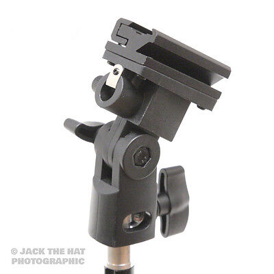 f64 Flashgun and Umbrella Studio Bracket to mount Flash and Brolly. Fits Stands.