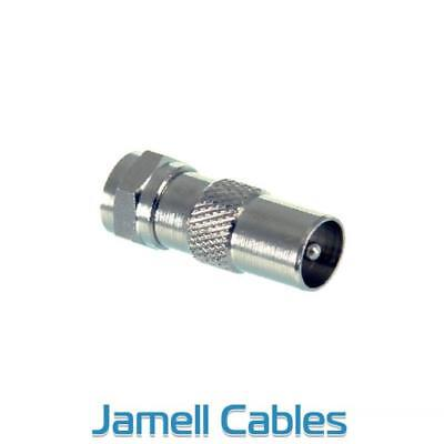F-Type Male to PAL Male Adapter