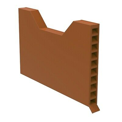 Pack of 50 Timloc 1143 Brick Block Masonry Cavity Wall Vents Weep Terracotta Red