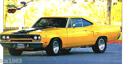 1970 PLYMOUTH ROAD RUNNER 440 SPEC SHEET/Brochure:MOPAR