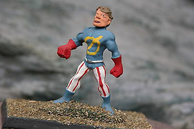 Golden Heroes Rpg  Superhero  #8    Painted