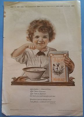 Vintage CREAM of WHEAT Advertisement - Black Americana by Edward Brewer