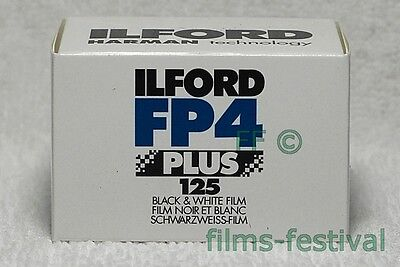 15 rolls ILFORD FP4 125 35mm 36exp Black & White Prints Film FREESHIP
