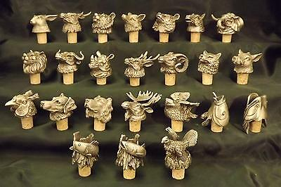 Animal Head Bottle Stoppers