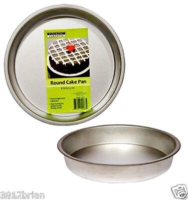 "(BRAND NEW) 1 X Cooking Concepts Round Non Stick Cake Pan 8"" inch (USA SELLER)"