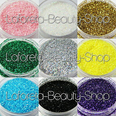 Glitter Powder Dust 100G f/ Nail Art Makeup Craft with Bulk Pack (color options)