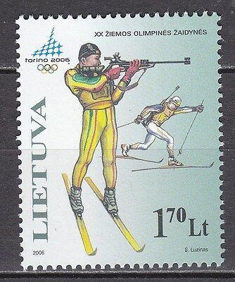 LITHUANIA  2006 **MNH SC# 804 Winter Olympics Games - Turin