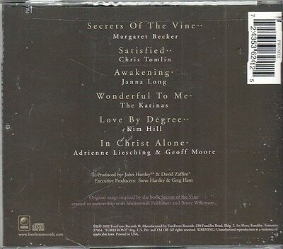 SECRETS OF THE VINE  MUSIC FOR A WORKSHIP EXPERIENCE   BRAND NEW -SEALED  CD