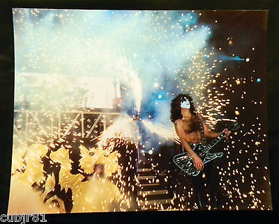Paul Stanley 11X14 Color Photograph Kiss