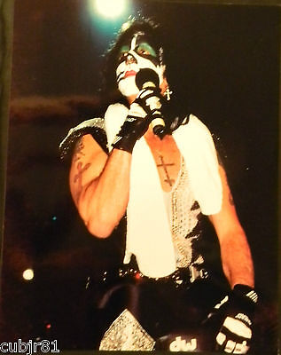 Peter Criss 11X14 Color Photograph Kiss