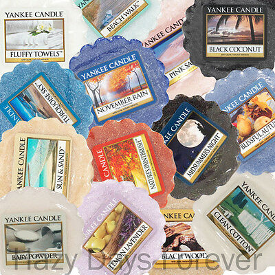 10 SCENTED YANKEE WAX TARTS Fresh Mix SCENTED TARTLETS Fragrances Mixture
