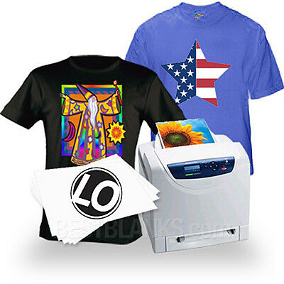 Laser Iron-On Heat Transfer Paper - For Darks (100) Neenah Laser 1 Opaque LO-8