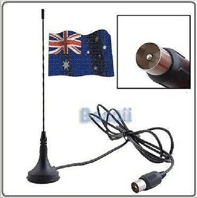 New!!Magnetic Base DVB-T TV HDTV DIGITAL FREEVIEW 5DBI ANTENNA TV COAXIAL Signal