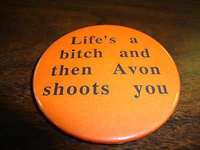 Button---Blake 7---Life's A Bitch And Then Avon Shoots You