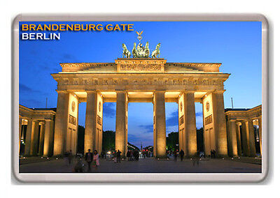 Brandenburg Gate Berlin Fridge Magnet Souvenir Imán Nevera
