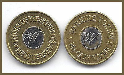 1 (One) Westview Nj Bi-Metal Parking Token 2006