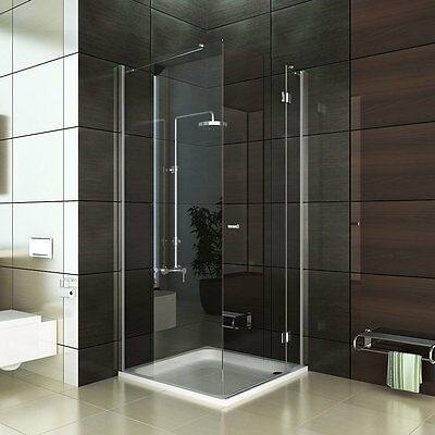 rahmenlos design dusche eck duschabtrennung hochwertige. Black Bedroom Furniture Sets. Home Design Ideas