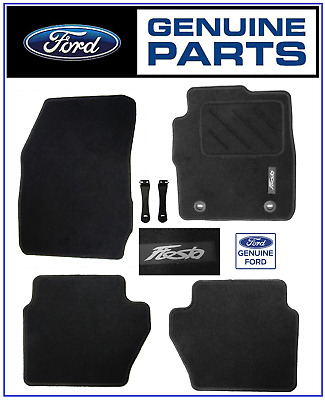 Genuine MK7 2008-2011 Ford Fiesta Tailored Carpet Mat Set Front & Rear 1526895