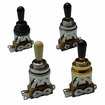 3 Way Straight Toggle Switch for Gibson, Les Paul, Sg, Epiphone etc..
