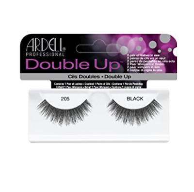 Ardell 100% Human Hair Double Up Lashes Eyelashes 205 For Party Perfect Eyes!