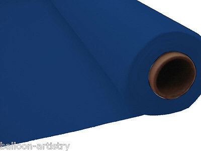 100ft NAVY BLUE Plastic Banquet Roll Table buffet