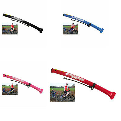 Trailgator Trail Gator Bike Childs Bicycle Towbar Trailer Red Blue Pink Black