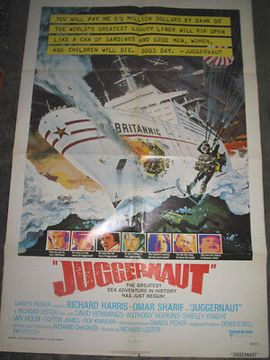 Juggernaut / Original U.s. One-Sheet Movie Poster (Richard Harris)
