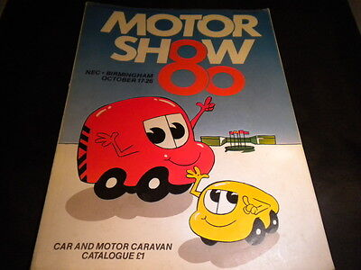 NEC British Motor Show 1980 full guide to world cars available 1980