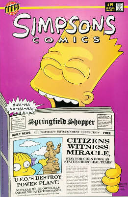 Bongo comics Simpsons #19 VFN+ FREE UK POST