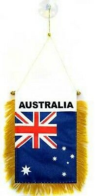 Australia Australian Flag Hanging Car Pennant for Car Window or Rearview Mirror