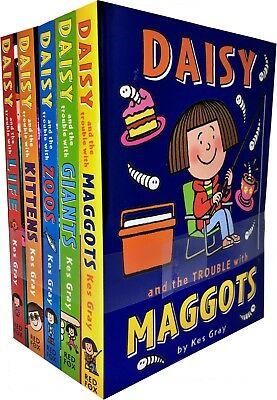 Daisy and the Trouble Collection Pack Kes Gray 6 Books Set (with life, zoos, et)