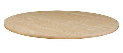 "44"" Round Laminate Table, 42"" Tall Height with 22"" Chrome Base - NATURAL COLOR"