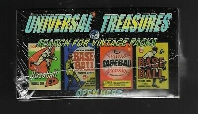 1952 Topps Wax Pack Box Mickey Mantle Rookie Card Chase