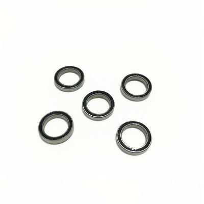 5pcs 6700-2RS 6700RS 6700 2RS 10x15x4mm Rubber Sealed Deep Groove Ball Bearing
