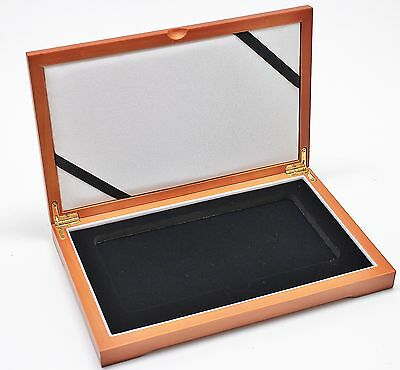 Wood Display Box For 1 Ngc Certified Coin Multi Slab For Quarter Dollars Etc