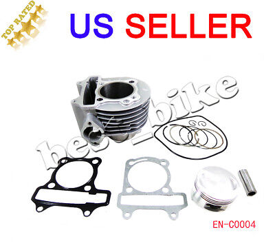72MM CYLINDER KITS Piston Rings set GY6 250cc Engine Parts Moped