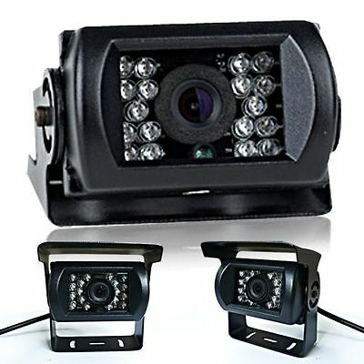 Rear View Car Bus Led Ir Night Vision Reversing Security Camera Waterproof